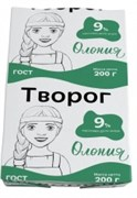 Творог Олонецкий мк жир.9% 200г