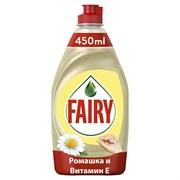 Средство Фэйри для посуды нежные руки ромашка и витамин Е 450мл