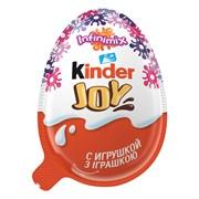 Яйцо шоколадное Киндер джой для девочек 20г