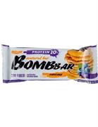Батончик Бомббар протеиновый неглазированный смородиново-черничный панкейк 60г