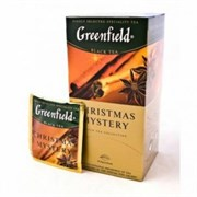 Чай Гринфилд кристмас мистери цейлонский 25пак. 37,5