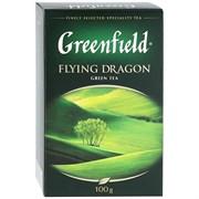 Чай Гринфилд флаинг драгон китайский зеленый 100г