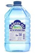 Вода Шишкин лес питьевая негазированная 5,0л