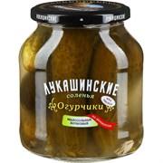 Огурчики Лукашинские соленья малосольные по-деревенски бочковые 670г