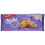 Печенье Милка с кусочками шоколада 168г