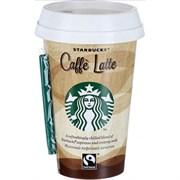 Напиток Старбакс молочный кофейный Латте 2,6% 220мл стакан