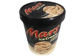 Мороженое Марс сливочное ведро 315г