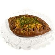 Пирог ржаной с капустой 100 г.