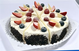 Торт шифон с ягодами 100 г.