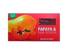 Шоколад СНСО горький папайя-розовый перец 100г