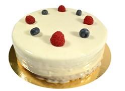 Торт Панакотта с лесными ягодами 100 г.