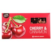 Шоколад СНСО горький вишня-корица 100г