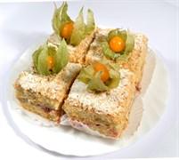 Торт Наполеон ягодный 100 г.