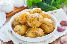Картофель отварной в кожуре 100 г.