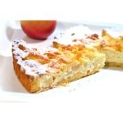 Тарт творожно-яблочный 100 г.