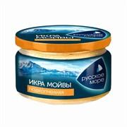 Икра Русское море мойвы деликатесная подкопченая 165г