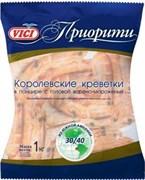 Креветки Вичи королевские в панцире в/м 30/40 500г 14(15)%