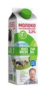 Молоко Эконива пастеризованное 3,2% 1000мл