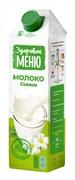 Напиток Здоровое меню Молоко соевое 1% 1л