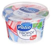 Творог Валио мягкий 4,5% 180г