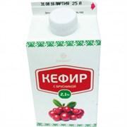 Кефир Славмо с брусникой 2,1% 500г