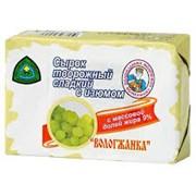 Сырок творожный Вологжанка сладкий с изюмом жир.9% 100г