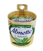 Сыр Альметте с зеленью творожный 60% 150г