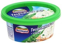 Сыр Хохланд творожный с зеленью 140г