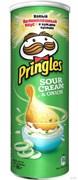 Чипсы Принглс картофельные со вкусом сметаны и лука 165г