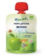 Пюре Флер Альпин яблоко 90г