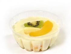 Десерт Панна котта с фруктами 145г