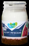 Йогурт Лактика Греческий с малиной 3% 190г