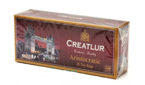 Чай Креатлюр аристократический черный 25пак*2г