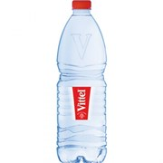 Вода Виттель минеральная негазированная 1л пл/б