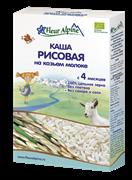 Каша Флер Альпин рисовая на козьем молоке 200г