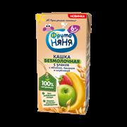 Кашка Фруто-няня молочно-овсяная йогуртная 5 злаков с грушей и бананом готовая к употреблению200мл