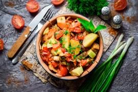 Рагу овощное из кабачков 100 г.