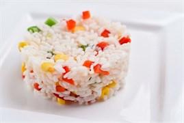 Рис с овощами 100 г.