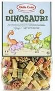 Макароны Далла коста фигурные Динозавры со шпинатом и томатами 250г
