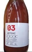 Сок Детокс огурец/томат/перец чили/сладкий перец/экстракты трав 1л