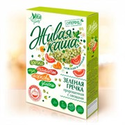 Каша Живая Вита зеленая гречка с овощами 300г