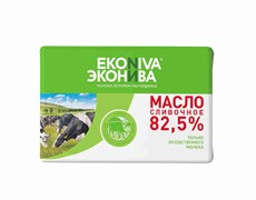 Масло Эконива сливочное 82,5% 200г