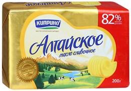Масло Алтайское сливочное 82% 200г