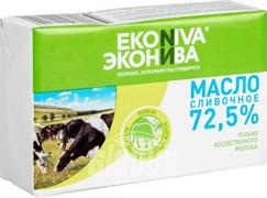 Масло Эконива сливочное 72,5% 350г