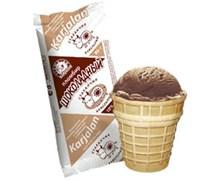 Мороженое Карелии пломбир шоколадный в ваф/ст 80г