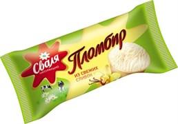 Мороженое Сваля сливочное ванильное в ваф. стаканчике 9% 70 гр