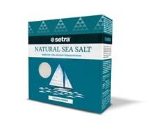 Соль Сетра морская йодированная мелкая 500г